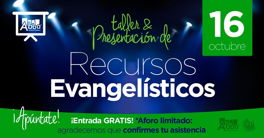 Presentación de Recursos Evangelísticos el 16 de Octubre en Abba