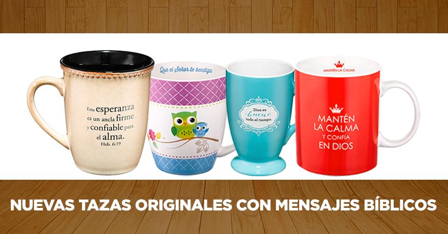 Nuevas tazas originales con mensajes b blicos for Tazas de cafe originales