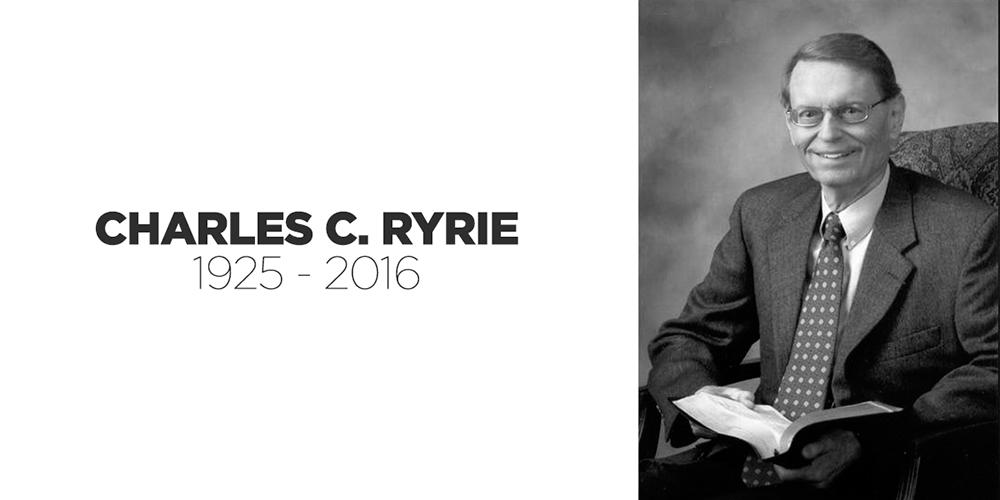 Especial sobre Charles C. Ryrie (1925 – 2016)