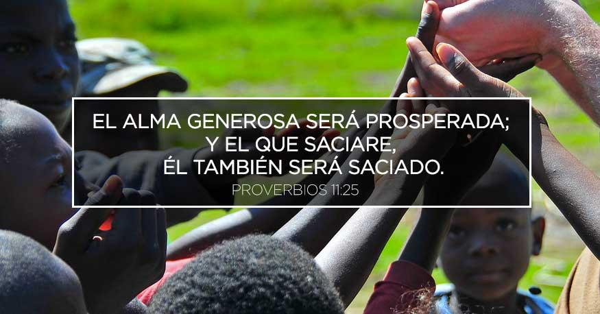 La generosidad, fuente de prosperidad