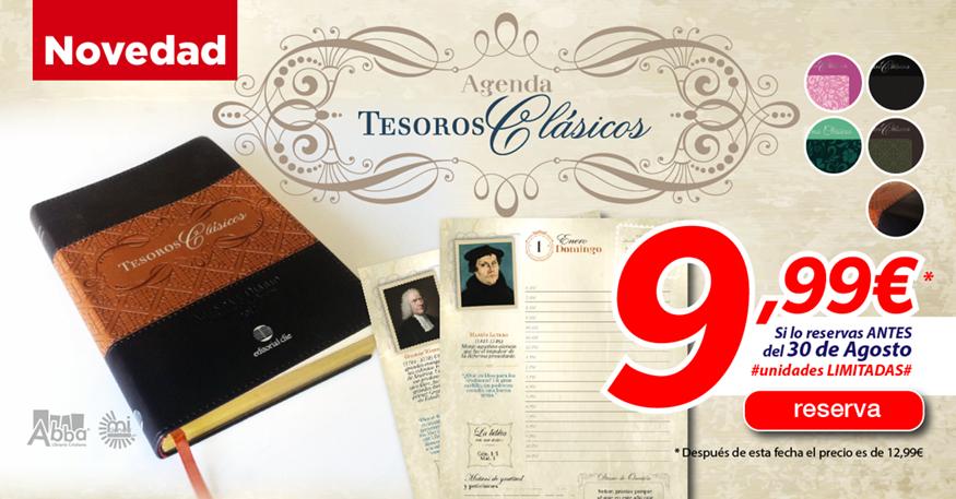 Nueva Agenda Tesoros Clásicos, la agenda oficial del 500º Aniversario de la Reforma Protestante